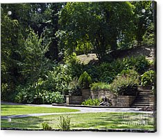 Day At The Park Acrylic Print by Ken Frischkorn