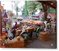 Day At The Pumkin Farm Acrylic Print