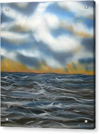 Day Break Sea Acrylic Print