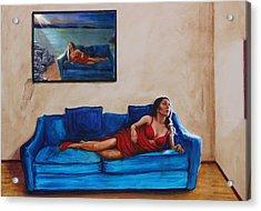 Day Dream 13 Acrylic Print by Charles Bickel