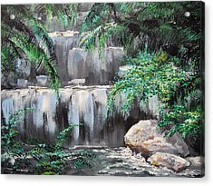 Acrylic Print featuring the painting Day Dreaming by Dan Whittemore
