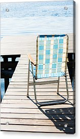 Day In Paradise Acrylic Print by Parker Cunningham