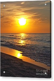 Day Is Done Acrylic Print by Pamela Clements