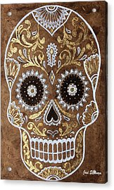 Acrylic Print featuring the painting Day Of Death by J- J- Espinoza