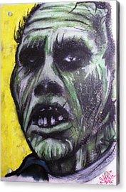 Day Of The Dead - Bub Acrylic Print by Sam Hane