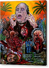 Day Of The Dead Acrylic Print by Jose Mendez