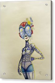 Day Of The Dead Of The Future Acrylic Print
