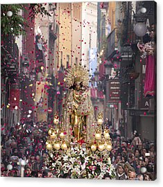 Day Of The Virgen De Los Desamparados Acrylic Print