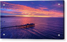 Daybreak Acrylic Print by David Levy
