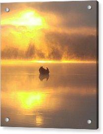 Daybreak Fishermen Acrylic Print