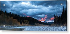 Acrylic Print featuring the photograph Daybreak by Fran Riley