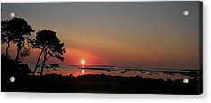 Daybreak In Edgartown Acrylic Print