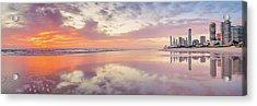 Daybreak In Paradise Acrylic Print by Az Jackson