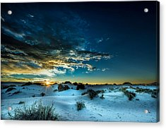 Daybreak At White Sands Acrylic Print