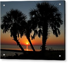Acrylic Print featuring the photograph Daybreak by Judy Vincent