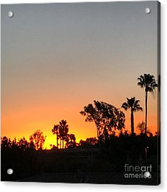 Acrylic Print featuring the photograph Daybreak by Kim Nelson