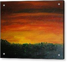 Daybreak Number Three Acrylic Print by Scott Haley