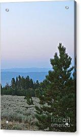 Daybreak On The Mountain Acrylic Print
