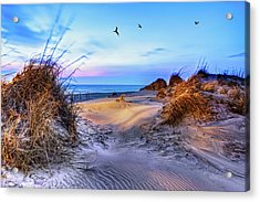 Daybreak On The Outer Banks 1 Acrylic Print
