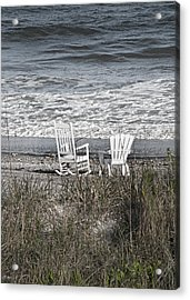 Daydreaming By The Sea  Acrylic Print