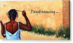 Daydreaming In Haiti Acrylic Print