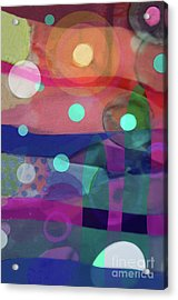 Dayglo Dream Acrylic Print by Cathy Jacobs