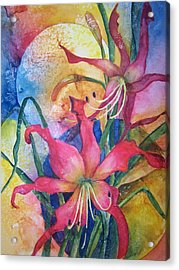 Daylilies In July Acrylic Print