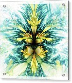 Dayqueen #art #abstract #digitalart Acrylic Print by Michal Dunaj