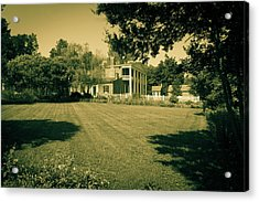 Acrylic Print featuring the photograph Days Bygone - The Hermitage by James L Bartlett