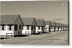 Day's Cottages Or The Flower Cottages Of Cape Cod Acrylic Print