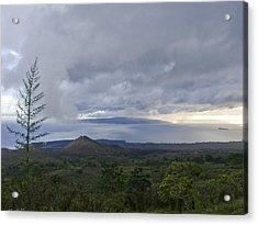 Days End At Kahoolawe Acrylic Print by Charlie Osborn
