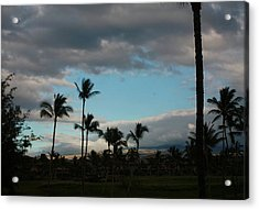 Days End Hawaii Acrylic Print