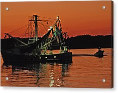 Days End Acrylic Print by Margaret Palmer
