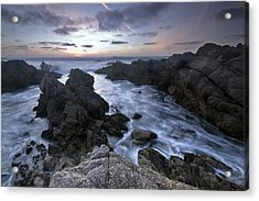 Days End Acrylic Print by Mike Irwin