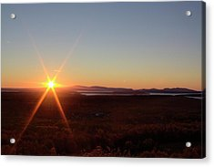 Acrylic Print featuring the photograph Days First Light Iv Hdr by Greg DeBeck