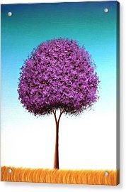 Days To Call On Acrylic Print by Rachel Bingaman
