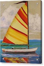 Daysailer By John Williams Acrylic Print