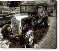 Dayton Ford Hot Rod Acrylic Print