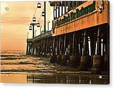 Daytona Beach Pier Acrylic Print