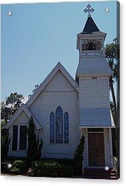 Daytona Church Acrylic Print by Kim Zwick