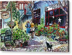 Acrylic Print featuring the painting Daytripper  by Margit Sampogna