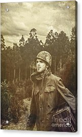 Daze Of War Acrylic Print