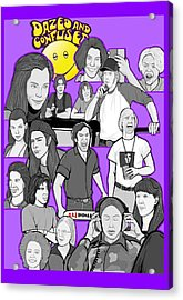 Dazed And Confused  Acrylic Print by Gary Niles