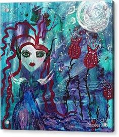 Dazzle Acrylic Print by Julie Engelhardt
