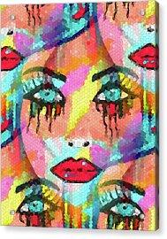 Dazzle Them Acrylic Print