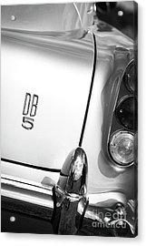 Db5 Monochrome Acrylic Print by Tim Gainey