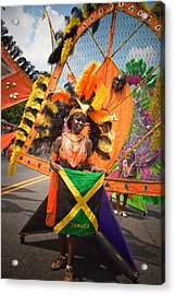Dc Caribbean Carnival No 13 Acrylic Print by Irene Abdou