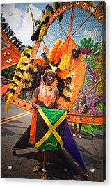 Dc Caribbean Carnival No 13 Acrylic Print by Irene Abdou