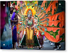 Dc Caribbean Carnival No 15 Acrylic Print by Irene Abdou