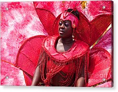 Dc Caribbean Carnival No 18 Acrylic Print by Irene Abdou